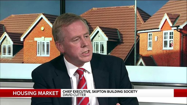 Skipton Building Society chief executive David Cutter