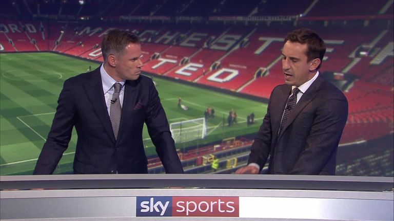 3:52                                            Jamie Carragher and Gary Neville debate Mourinho's future on MNF