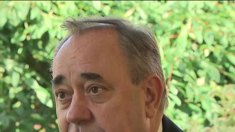 Former First Miniser of Scotland Alex Salmond has denied he harassed anyone whilst in office.