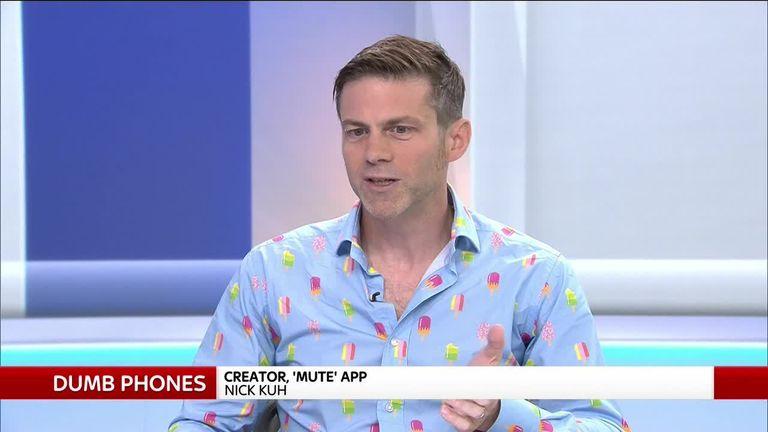 Nick Kuh, Mute App creator
