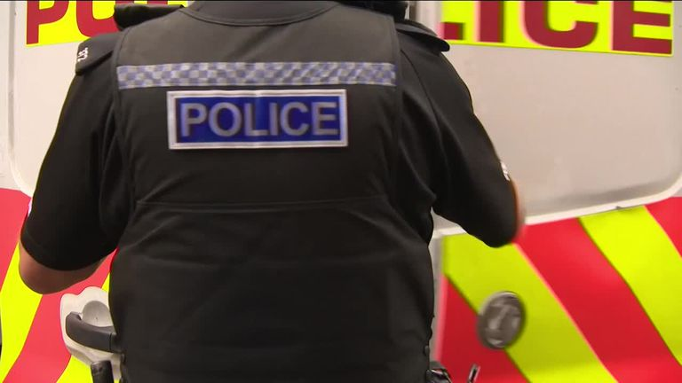 Sky's Mark White on a day of covering the public's calls of crime with  Cleveland Police as chief constables around the UK warn of funding issues