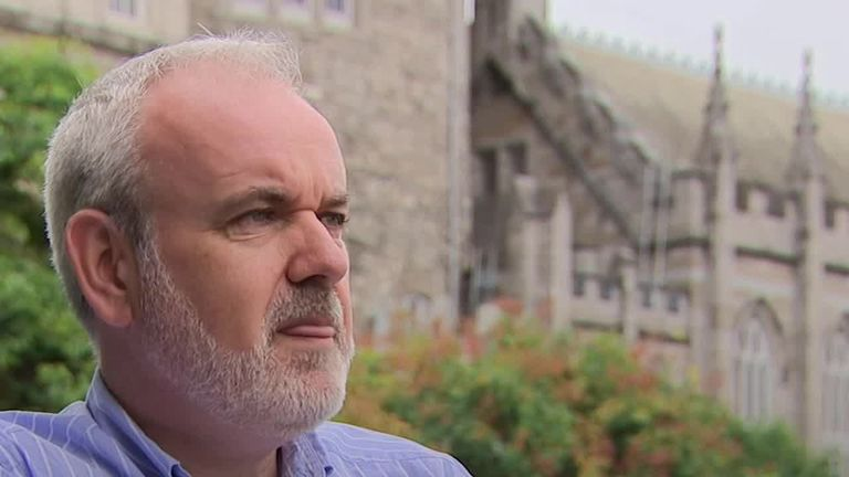 Colm O'Gorman was raped by a Roman Catholic priest when he was 14