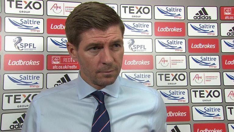 Rangers boss denied debut win at Aberdeen