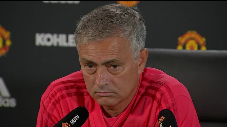 1:32                                               Jose Mourinho has hit back at 'lies&#x27 over unrest in his squad