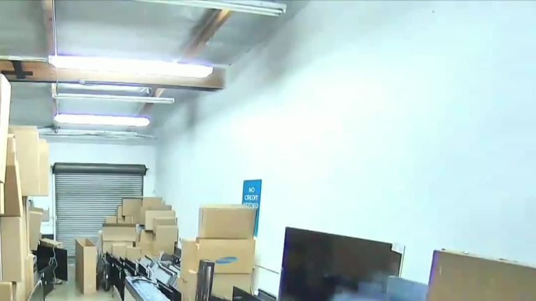 A man was left with serious burns after an e-cigarette exploded in his pants pocket in Anaheim, California, on August 27