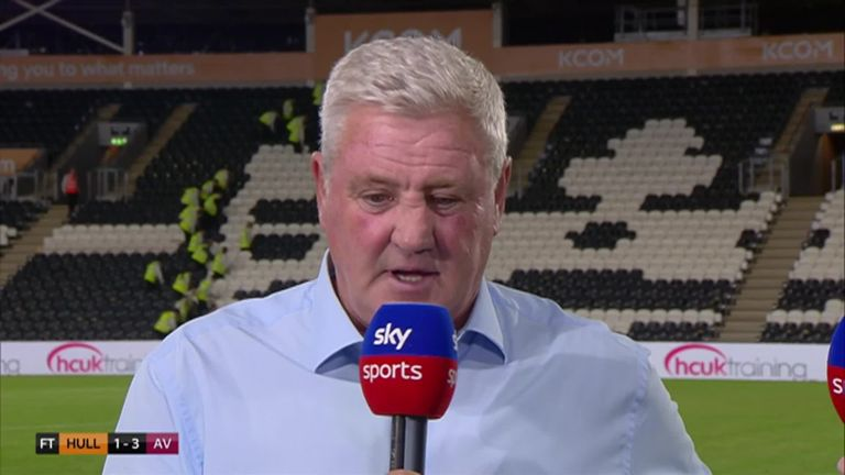 Steve Bruce discusses Aston Villa's transfer deadline worries
