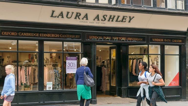Image Laura Ashley Has 156 S In The Uk