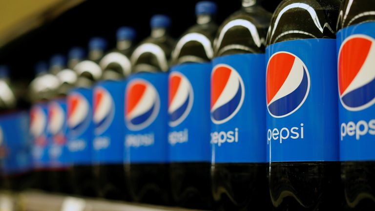 As well as Pepsi, PepsiCo's brands include Walkers, Doritos and Tropicana