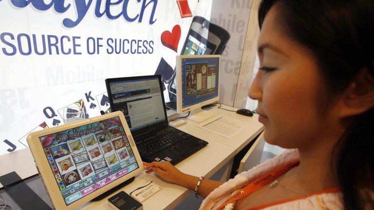 Playtech is a gambling software developer