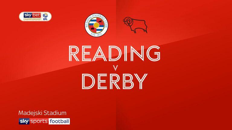 Reading 1-2 Derby