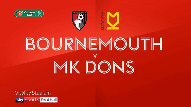 Bournemouth 3-0 MK Dons