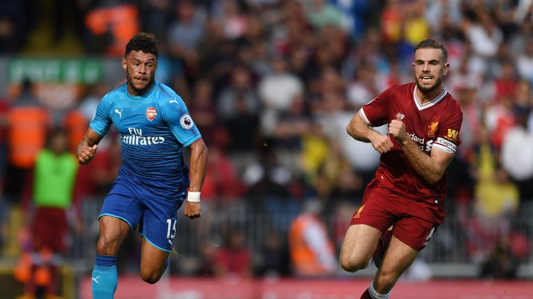 Alex Oxlade-Chamberlain played for Arsenal against Liverpool just a few days before he left for Anfield