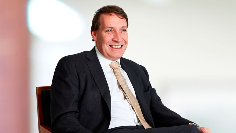 Andrew Croft, chief executive, St James Place © St. James's Place Wealth Management Group
