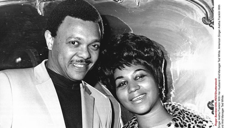 Aretha Franklin and her first husband Ted White