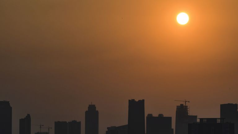 Pollution levels have remained dangerously high in Jakarta
