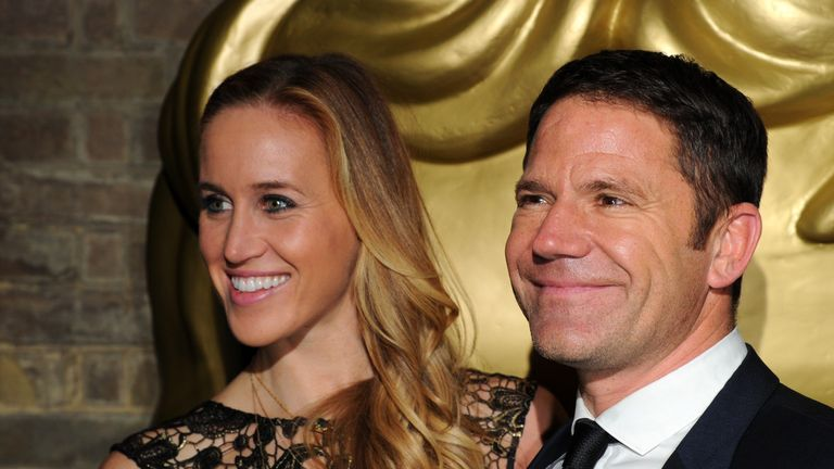 Helen Glover and Steve Backshall married in September 2016