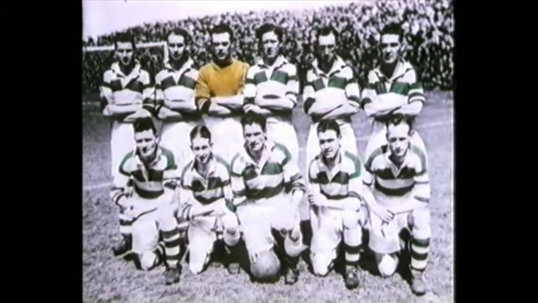 An early team photo