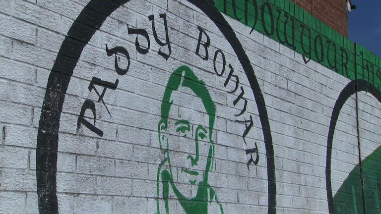 Paddy Bonnar was another of Belfast Celtic's old players