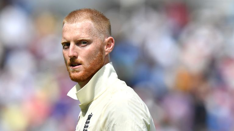 Ben Stokes first played for England's senior team in 2013