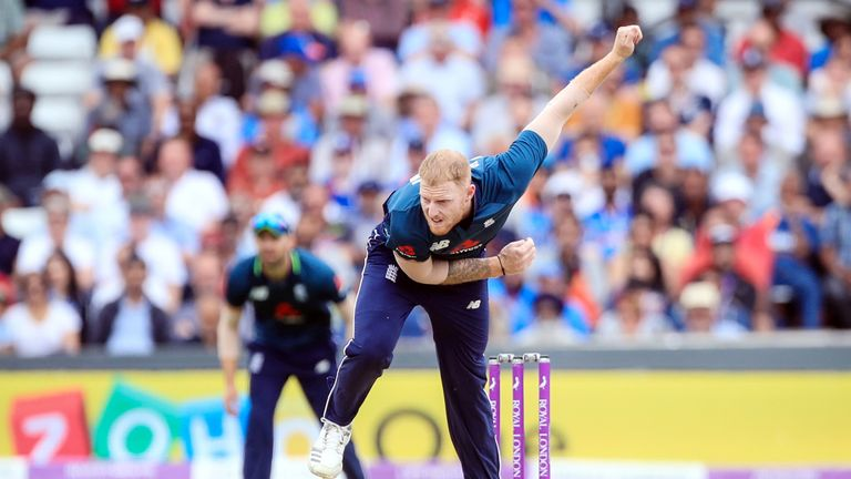 Ben Stokes is a fast-medium right-handed bowler - but left-handed batsman