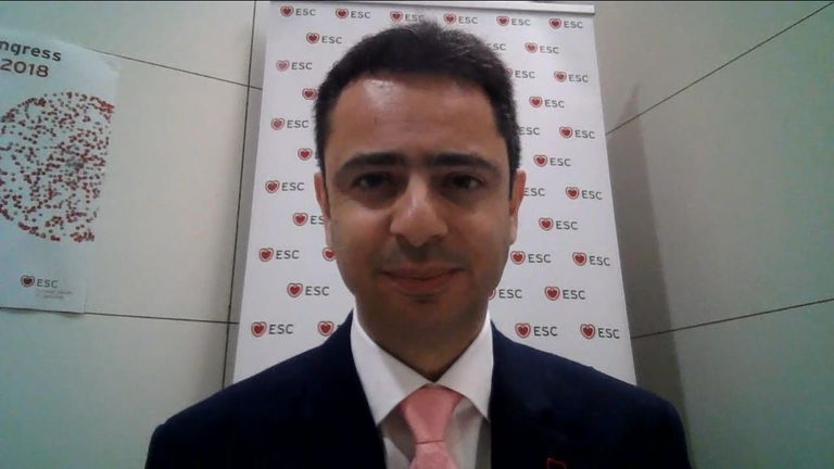 Charalambous Antoniades led the study which found a new scan which could predict heart attacks