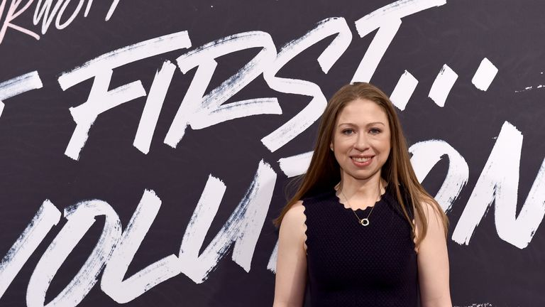 Chelsea Clinton currently works for the Clinton Foundation