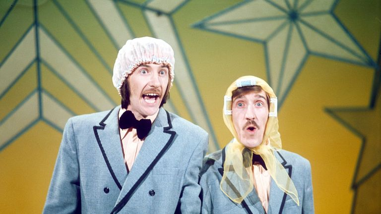 Chuckle Brothers in New Faces in 1975