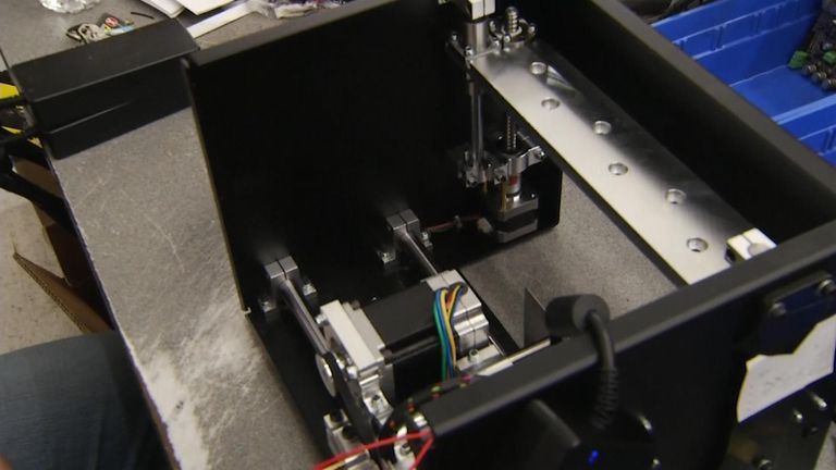 3D printers can create many items, including new limbs