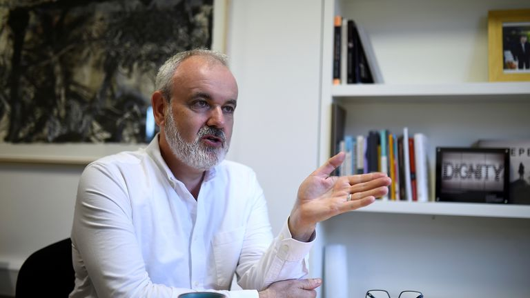 Colm O'Gorman is a survivor of abuse and now works for Amnesty in Ireland