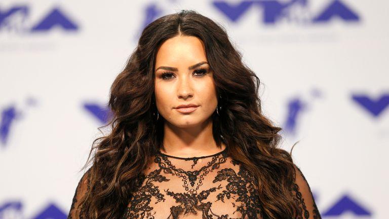 Demi Lovato in 2017