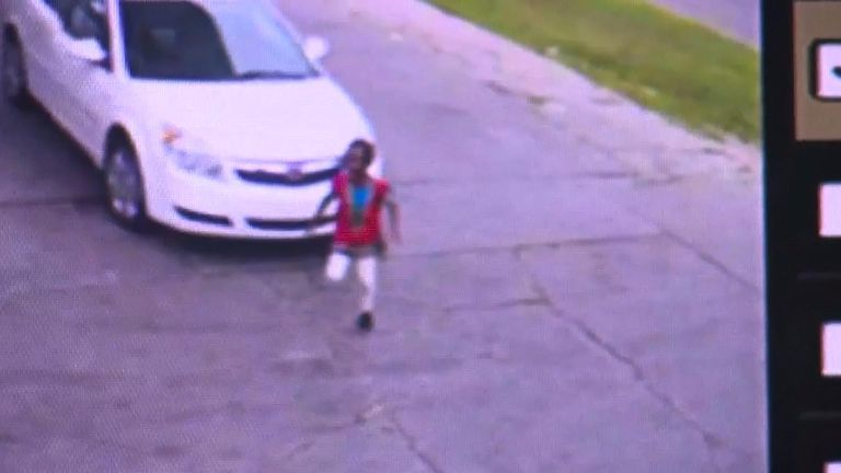 A little girl escaped an alleged carjacker in Detroit