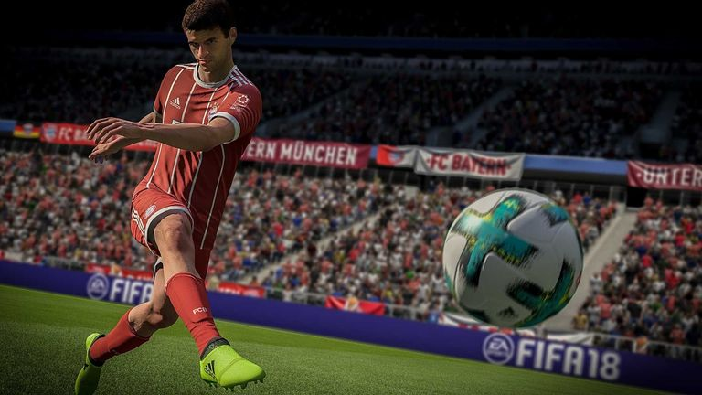FIFA allows players to spend extra money to build their teams. Pic: EA Sports