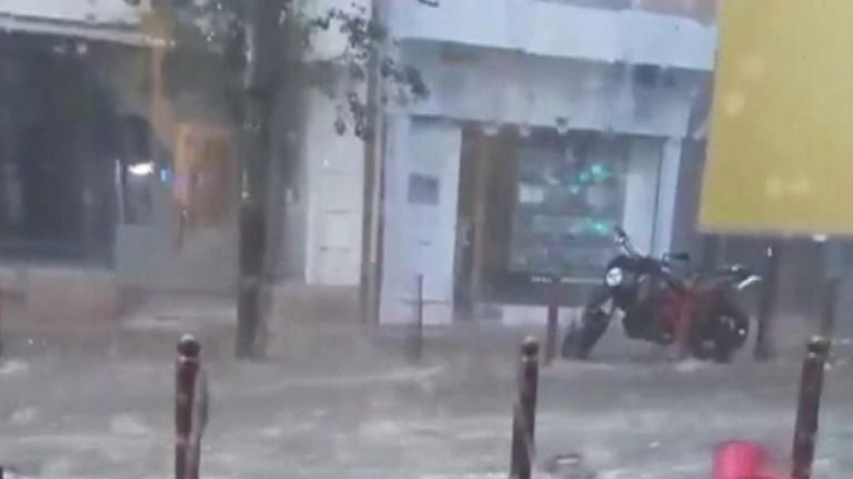 Flash flooding surprises residents in southern France