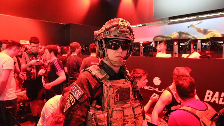 For many gamers the exhibition in Germany is a serious business
