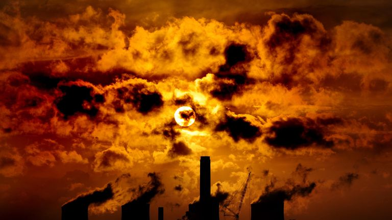 "Scientists have said the planet will reach a ""Hothouse"" state if global temperatures reach 2C above pre-industrial levels"