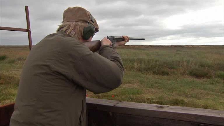 People from all around the world come to the UK to shoot grouse