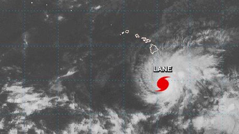 Hurricane lane will move close to the main Hawaiian  islands