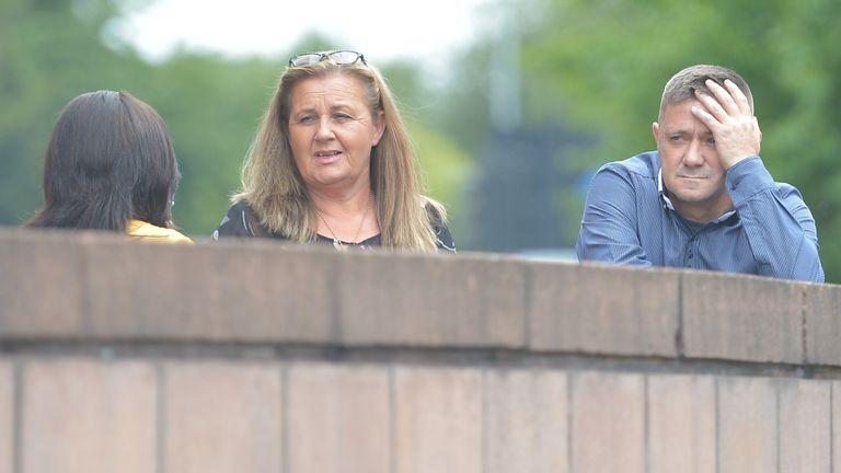 Ian Burke, son of victim Henry Burke, outside Preston Crown Court