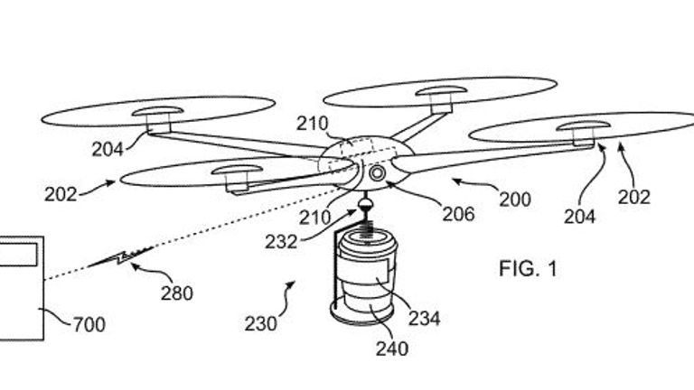 IBM's coffee drone can detect when you need a drink Pic: IBM