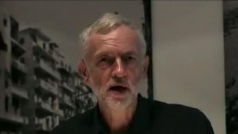 Jeremy Corbyn compares the West Bank to World war Two occupations in 2013
