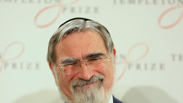 Jonathan Sacks branded him an anti-Semite over the comments made in 2013