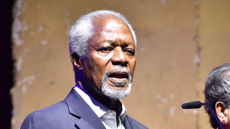Kofi Annan has died
