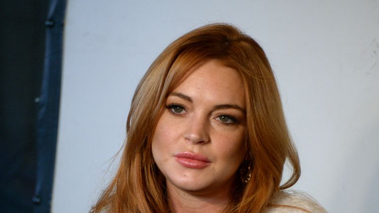 Lindsay Lohan has apologised for comments she made to The Times