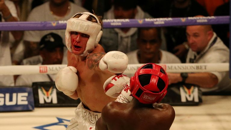 Jake Paul beat KSI's younger brother Deji in the undercard fight