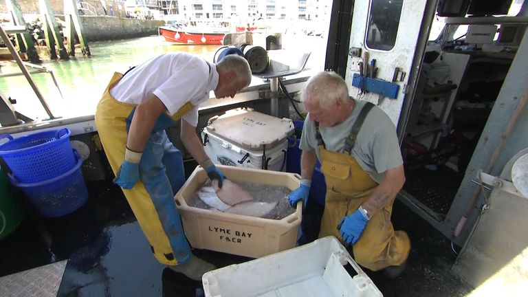 Fishermen were initially reluctant to change the way they fished