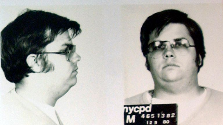 Mark Chapman shot and killed John Lennon in 1980