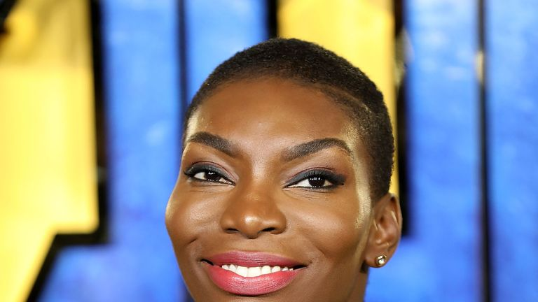 Michaela Coel is the first black woman to have spoken at the MacTaggart Lecture