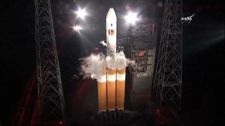 The probe is launching from Cape Canaveral in Florida. Pic: NASA