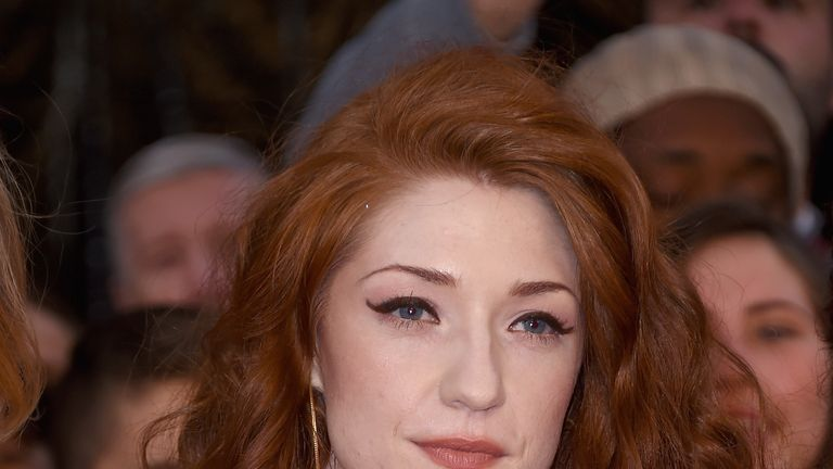 Nicola Roberts attends the Pride of Britain awards at The Grosvenor House Hotel on September 28, 2015 in London, England