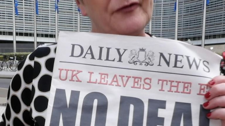 Image result for no deal brexit